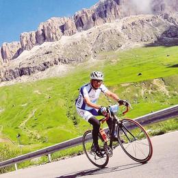 Sulle vette di Pantani  con il fegato trapiantato