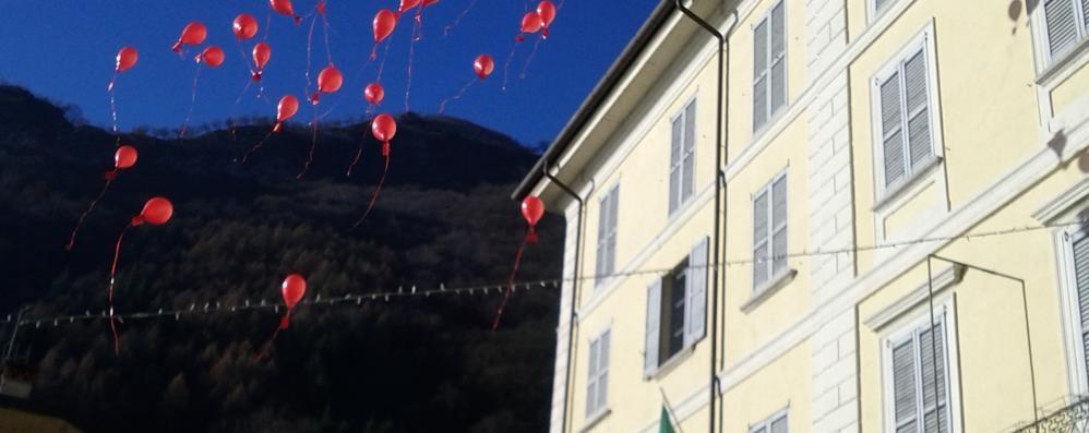 Da Dongo a Vicenza Il palloncino di Davide