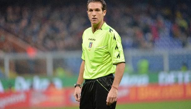 Calcio: Banti arbitrerà Juve-Inter