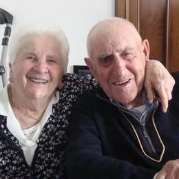 Un matrimonio da record   Rina ed Egidio 70 anni insieme