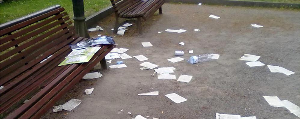 Albese, distrutti i libri della biblioteca