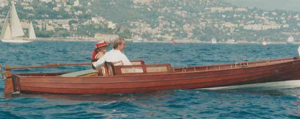Il nostro giro del lago  con la barca elettrica
