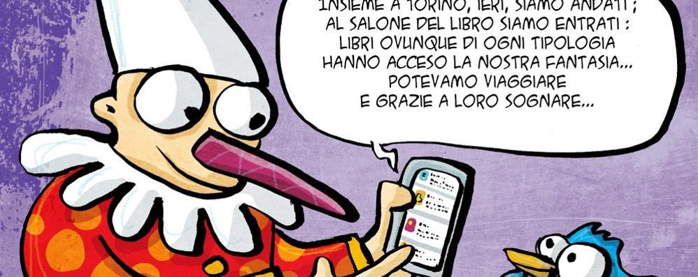 Pinocchio in un tweet  Da Cantù a Torino