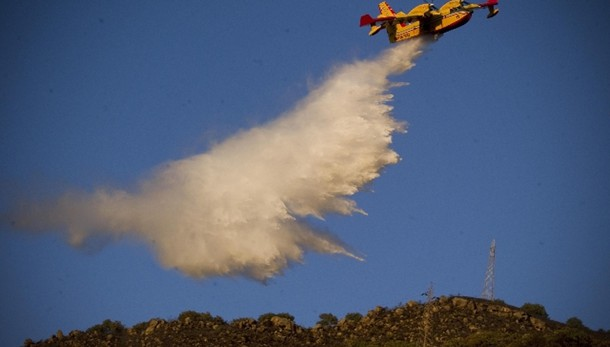 Incendi: Cfs, +120% rispetto al 2014