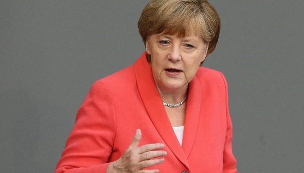 Merkel, non voglio un'Europa tedesca