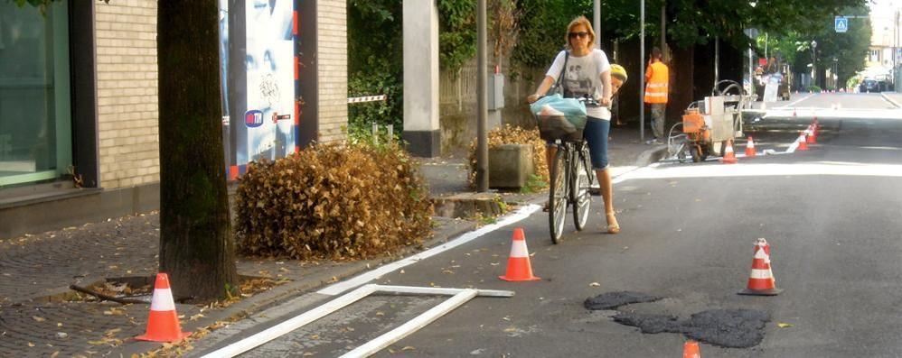 Mariano si mette in ordine  Nuove strisce e asfaltature