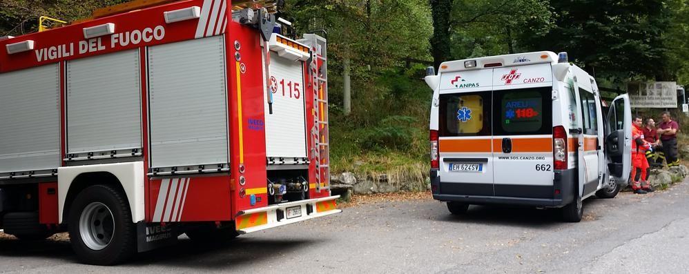 Ragazzi infortunati al rifugio  Arrivano i vigili del fuoco