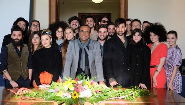 Conti, clima leggero a Sarà Sanremo