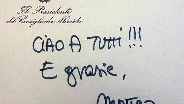 Renzi, riparto da capo, senza stipendio