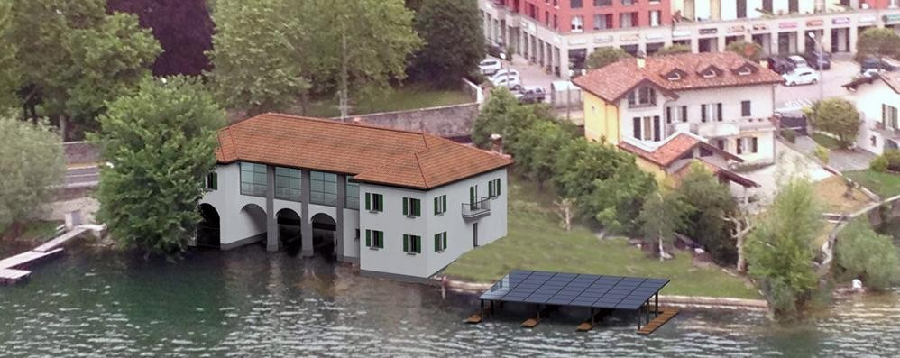 Pusiano, risorge la casa di Pesca  «La ricostruiremo come era prima»