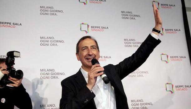 Sala nuovo sindaco di Milano