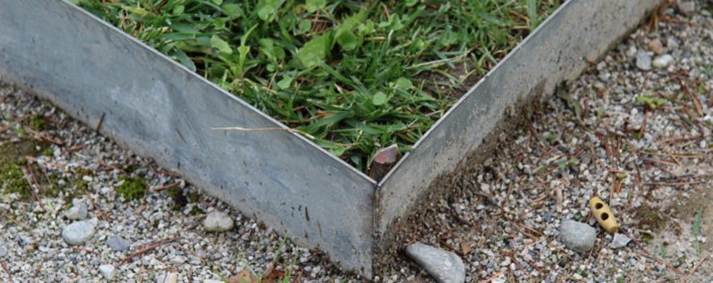 Parco villa Bernasconi  Bimbo ferito a Cernobbio