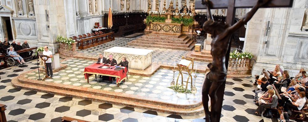 Il saluto del vescovo «I miei dieci anni fra i fedeli lariani»