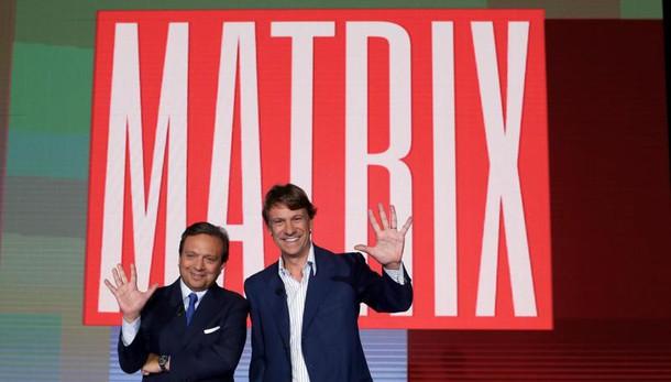 Per Matrix la coppia Porro-Chiambretti