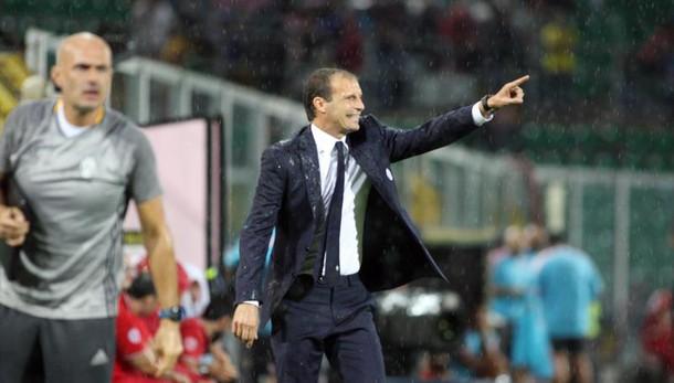 Allegri, Palermo difficile,ora Champions