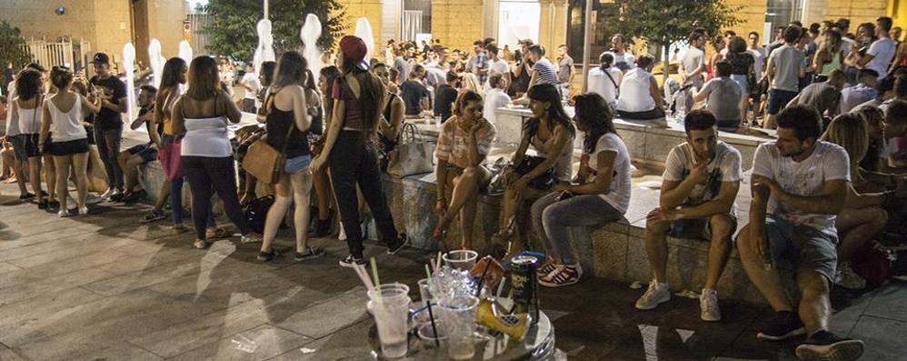Movida a Cantù, l'assessore  «Sui locali abbiamo le mani legate»