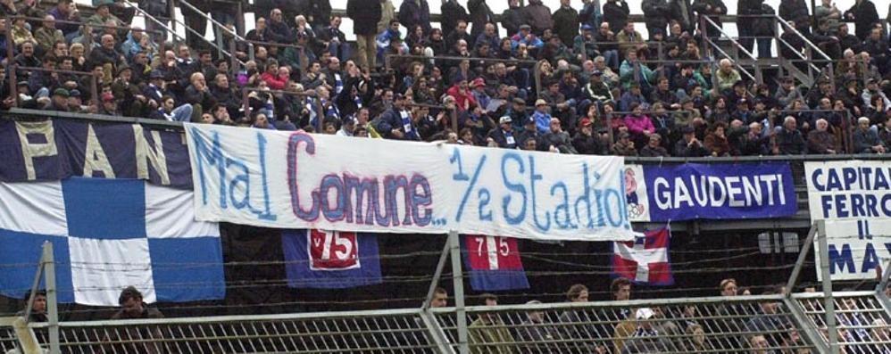 Tifosi, stadio e proteste Una lunga storia azzurra