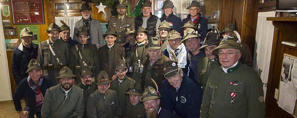 Olgiate, battaglione alpino   per ricordare don Gnocchi