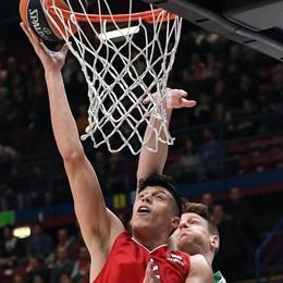 Basket: Sassari ko, EA7 vince C.Italia