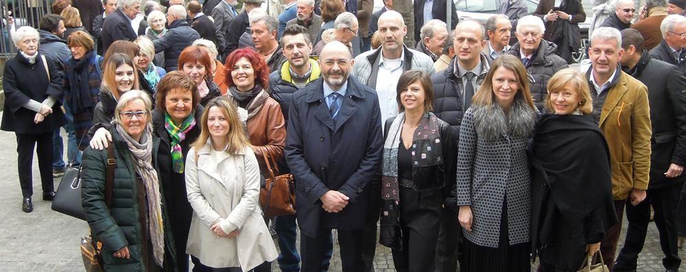 Erba, Ghislanzoni si candida a sindaco  «Rinunciare sarebbe stato vile»    Guarda il video