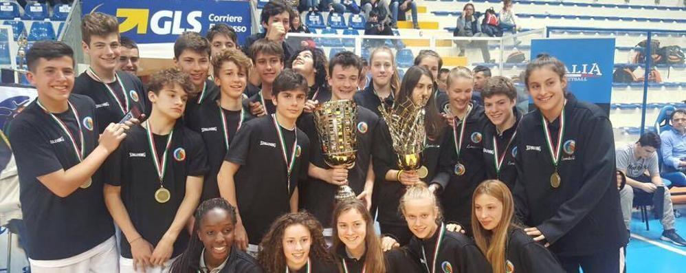 Basket, Trofeo delle Regioni Gloria per cinque comaschi