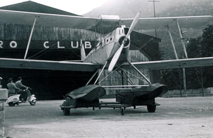 1947-l'aereo I-COMA