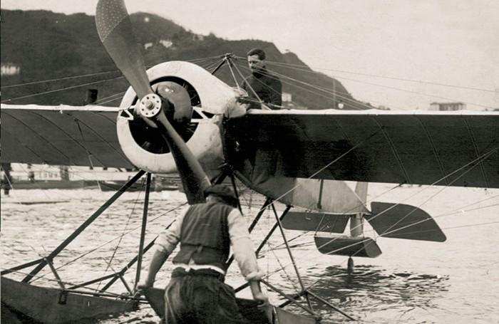 1913-Roland Garros vince il Gran circuito dei laghi