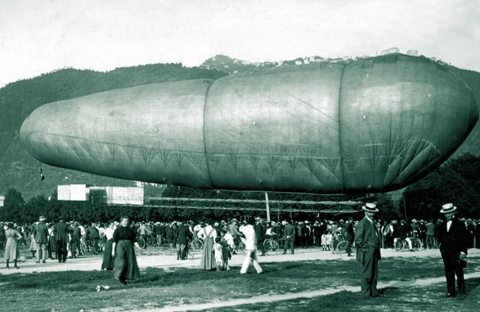1914-Il dirigibile di Celestino Usuelli