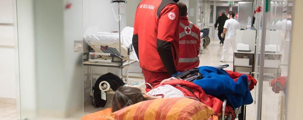 Ospedali comaschi, ressa mai vista in Pronto soccorso