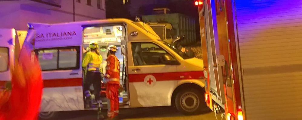 Si sente male esce di strada Incidente a Lasnigo