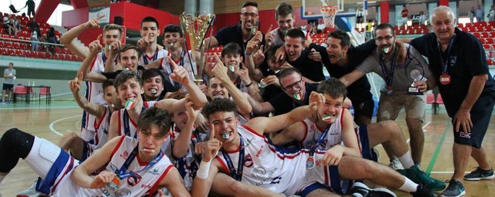 Il Lombardia Basket Gala Quattro club in passerella