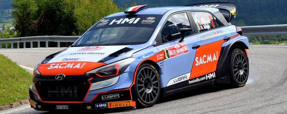 Rally di Como, il gran finale In corsa c'è anche Fontana