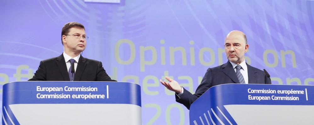 Manovra: Dombrovskis-Moscovici hanno aggiornato colleghi