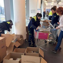 Erba, matite e quaderni pro terremotati  Erba conta altre mille donazioni