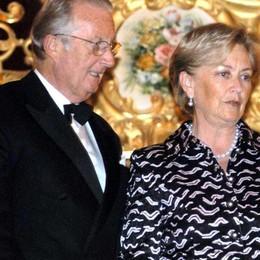I sovrani del Belgio e poi la moda  La settimana vip della Tremezzina