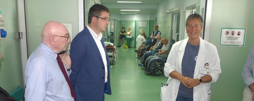 Sant'Anna, pronto soccorso più sicuro  Da autunno i volontari in ospedale