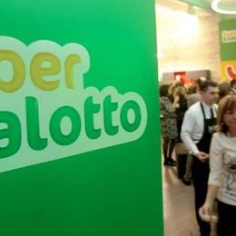 SuperEnalotto: a Tavernerio  una vincita di 87 mila euro