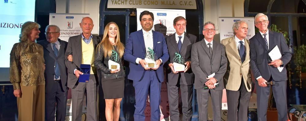 Il Premio Torriani   Consegna allo Yacht Club