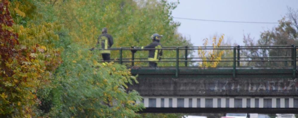 Arosio, cadono calcinacci dal ponte   Novedratese messa subito in sicurezza