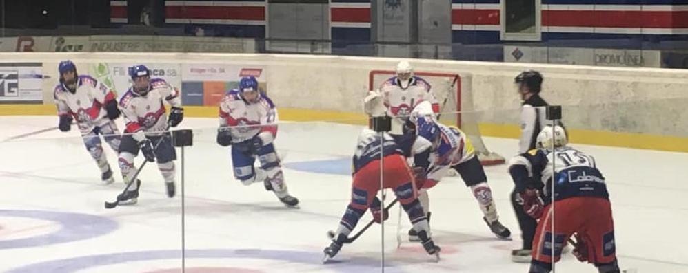 Hockey Como in casa  La prima a Casate
