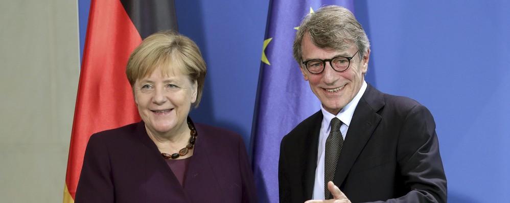 Sassoli, a Berlino per ascoltare punti di vista tedeschi