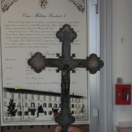 Crocifisso di Turate Ancora vandalizzato