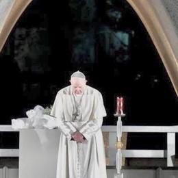 Il Papa a Hiroshima  Con le lampade costruite a Fino