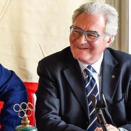 Cena speciale al Panathlon  Arriva il presidente mondiale