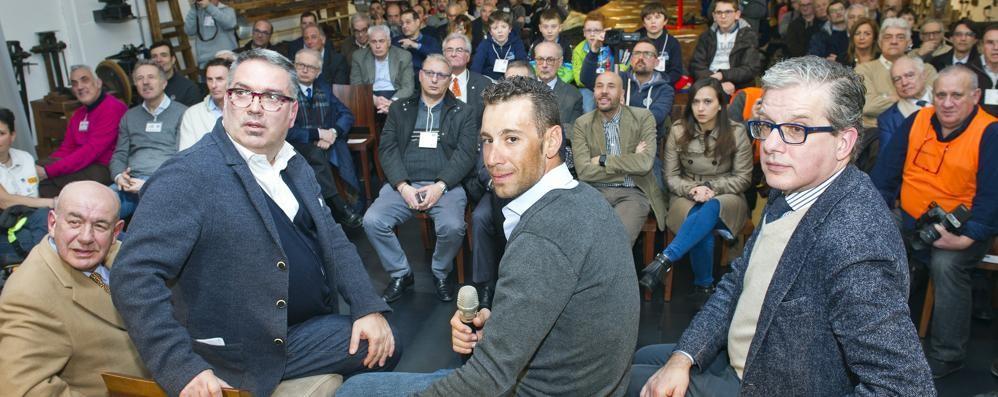Nibali torna a Cantù  Ospite del Canturino