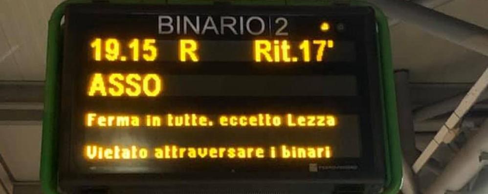 C'è il bonus ritardi per i pendolari  «Ma a Erba servono nuovi treni»