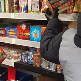 Fuochi d'artificio illegali Maxi sequestro in provincia