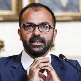 L'addio del ministro  al governo precario