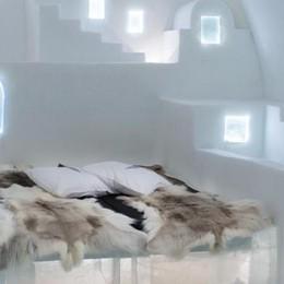 L'hotel nel ghiaccio in Svezia  Creazione made in Villa Guardia