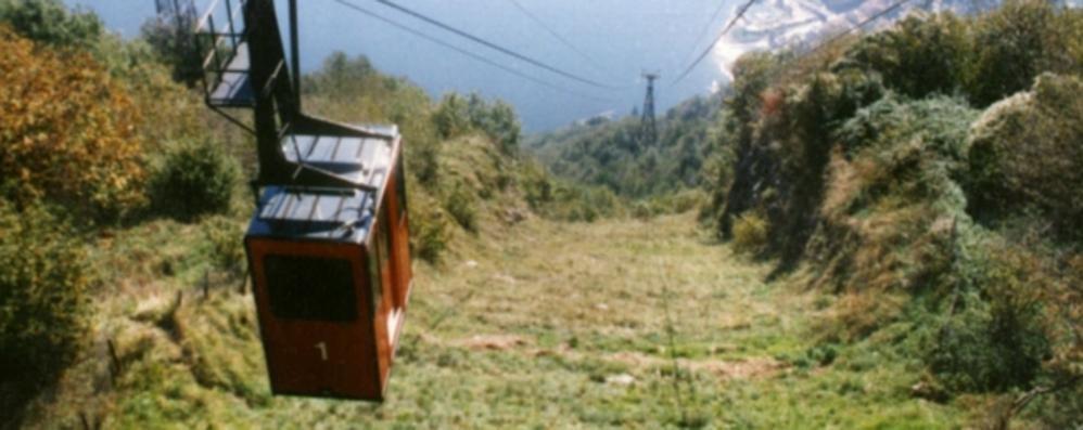Funivia di Pigra, spariti 12mila euro  Denuncia del sindaco contro ignoti